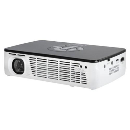 AAXA Technologies P300 Pico/Micro LED Projector, 60+ Minute Battery Life, 400 Lumen, WXGA 1280 x 800, HDMI, mini-VGA, MicroSD, USB Input, Built-in Media Player, 15,000 Hour LED - KP600-01