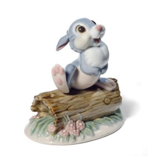 Nao Disney Porcelain Thumper Figurine