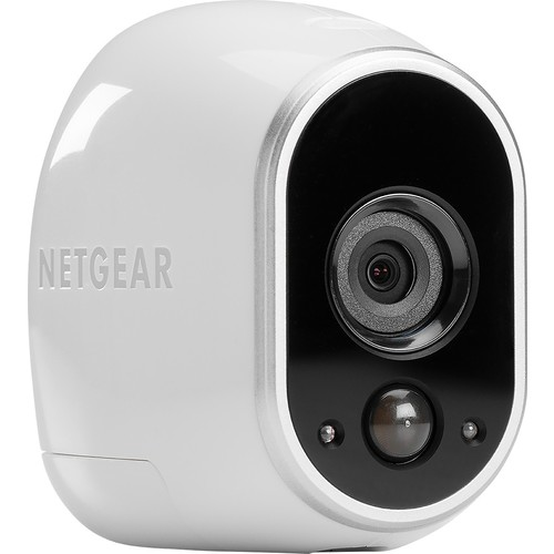 NETGEAR Arlo Security Camera - Add-on Wire-Free HD Camera (Base Station Not Included), Indoor/Outdoor, Night Vision (VMC3030)