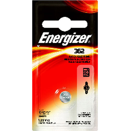 Energizer 362BPZ Zero Mercury Battery - - 1 Pack