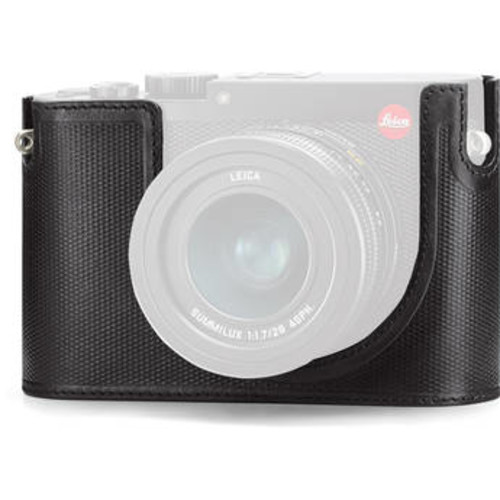 Q Protector for Q Digital Camera (Leather, Black)