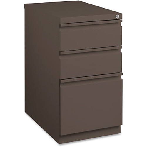 Lorell Mobile Steel Box/Box/File Pedestal - 15
