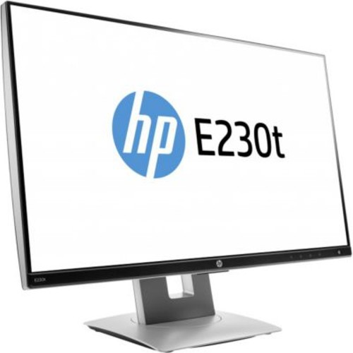 HP Business EliteDisplay E230t LED LCD Touchscreen Monitor with IPS Panel Technology, 23