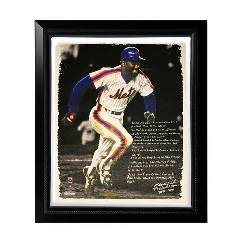 MLB Canvas - New York Mets Mookie Wilson