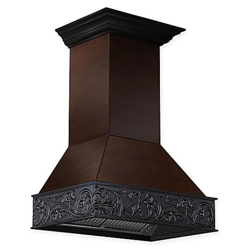 ZLINE Designer Series 373AW 30-Inch Wooden Wall Range Hood