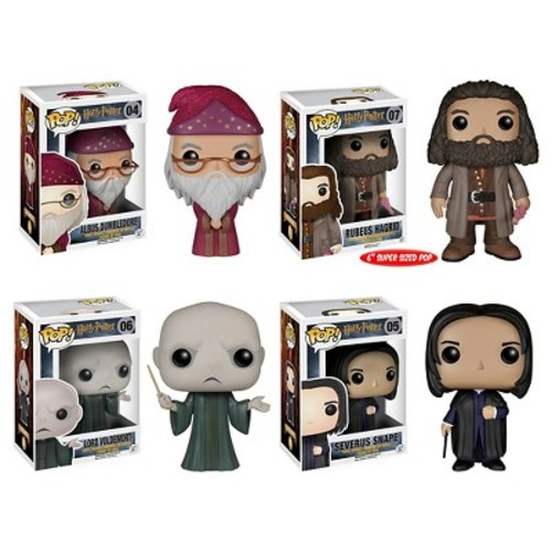 Funko Harry Potter POP! Movie Vinyl Collectors Set: Albus Dumbledore, Rubeus Hagrid (6
