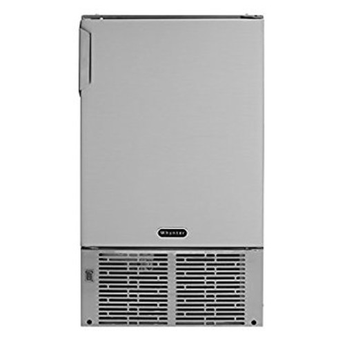 Whynter MIM-14231SS 14'' Undercounter Automatic Marine Ice Maker with 23lb Daily Output, Stainless Steel