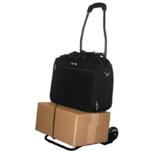 Travel Smart by Conair TS-34FFC Flat Folding Multi-Use Luggage Cart, Black (Pack of 4)