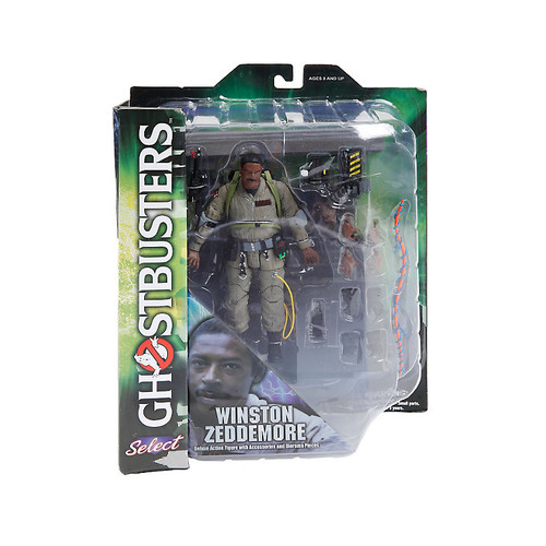 Ghostbusters Wintson Zeddemore Action Figure