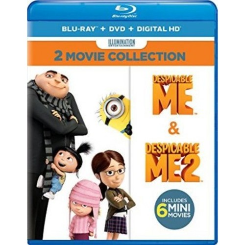 Despicable Me 2-Movie Collection [Blu-Ray] [DVD] [Digital HD]
