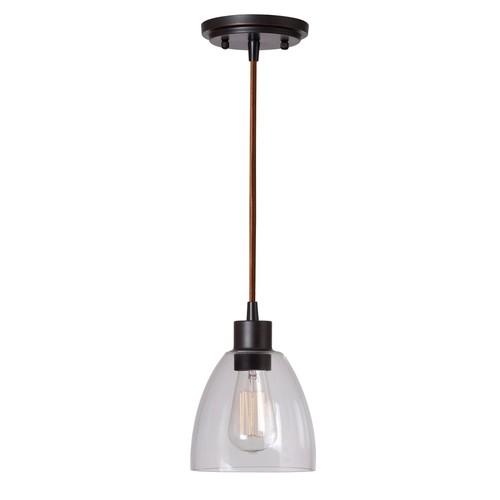 Kenroy Home 92100ORB Edis 1 Light Mini Pendant
