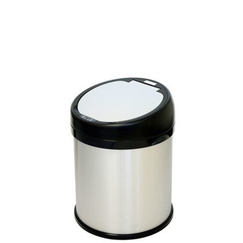 iTouchless 8-Gallon Round Automatic Sensor Touchless Trash Can