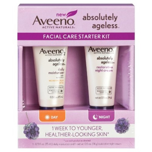 Aveeno Absolutely Ageless Facial Care Starter Kit