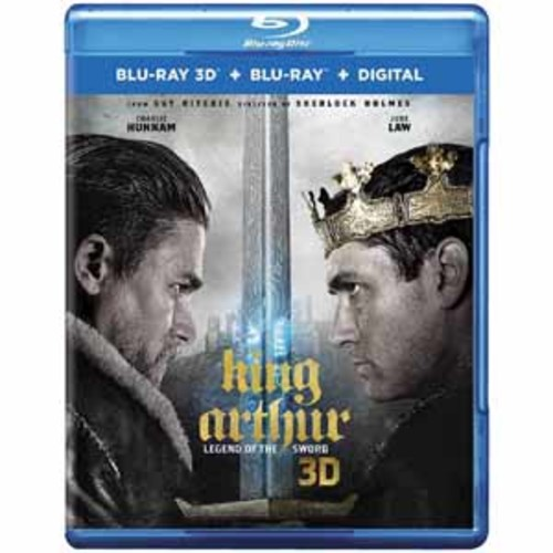 King Arthur: Legend of the Sword [Blu-Ray 3D] [Blu-Ray] [Digital]