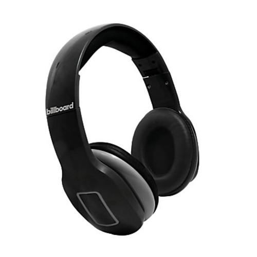 Billboard Bluetooth Over-The-Ear Headphones, Black