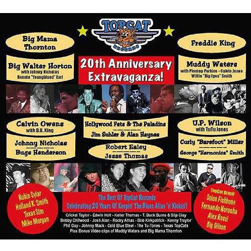 Topcat Records 20th Anniversary Extravaganza [CD]