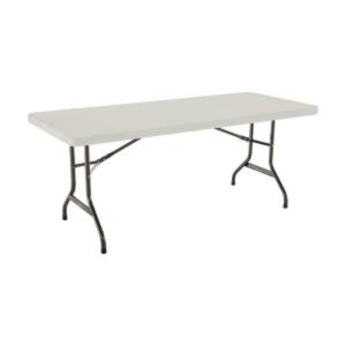 Lifetime 6 ft. Almond Folding Utility Table