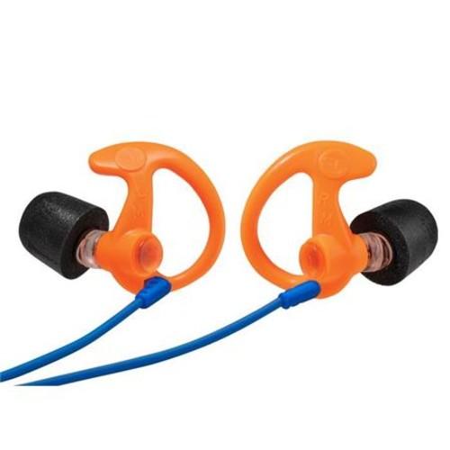 SureFire EP10 Sonic Defenders Ultra Max Full-Block Earplugs, Large, Orange