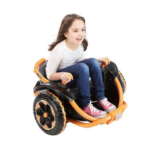 Fisher-Price 12V Battery Power Wheels Wild Thing Kids Ride-On Car - Orange