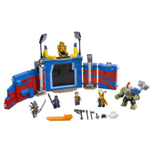 LEGO Super Heroes Marvel Thor Ragnarok Thor vs. Hulk: Arena Clash (76088)