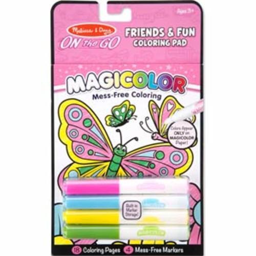 Melissa & Doug Magicolor - On the Go - Friends & Fun Coloring Pad