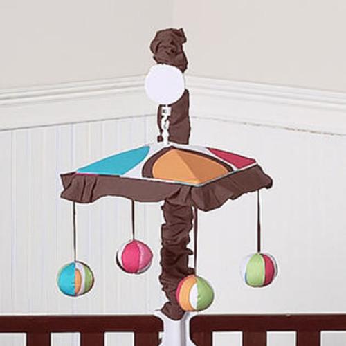Sweet Jojo Designs Deco Dot Collection Musical Mobile - Mobile-DecoDot