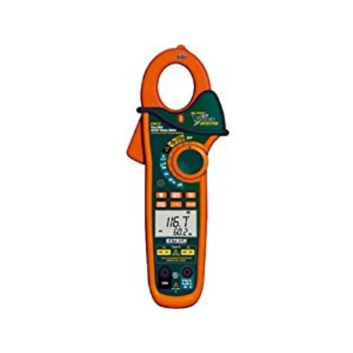 Extech EX613 Clamp Meter 400A with Dual Type K Inputs and IR Thermometer [Clamp meter, Without IR Thermometer]