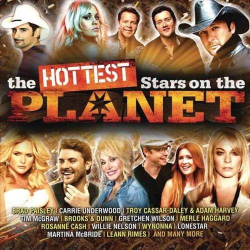 The Hottest Stars on the Planet [CD]