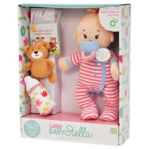 Manhattan Toy Wee Baby Stella Sleepy Time Doll Set with Lavender Scent