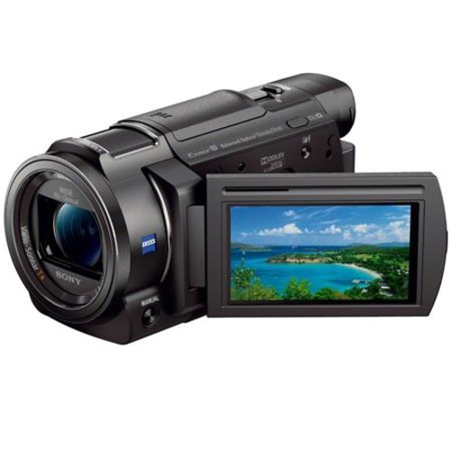 Sony Handycam AX33 4K Flash Memory Camcorder - Black