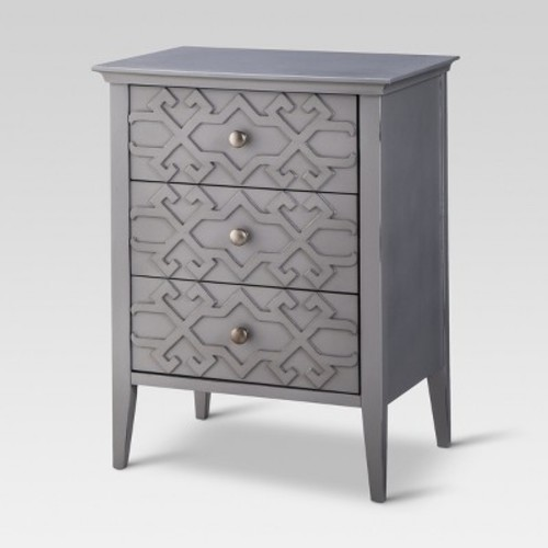 Fretwork Accent Table - Threshold