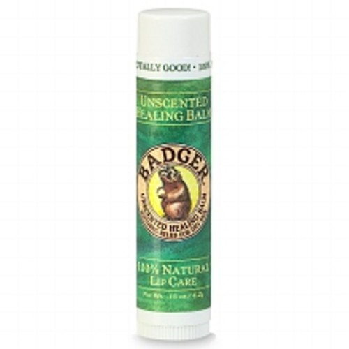 Badger Classic Lip Balm Unscented