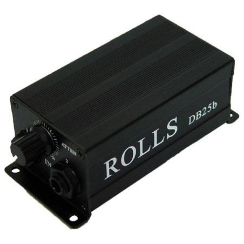 Rolls DB25B Passive Direct Box with Ground Lift Switch DB25B