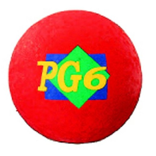Martin Playground Ball, 6in, Red [1]