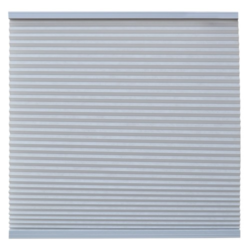 Keystone Fabrics Light Filtering Cordless Cellular Shade Steel Grey 54.25 to 72 inch wide x 72 inch d