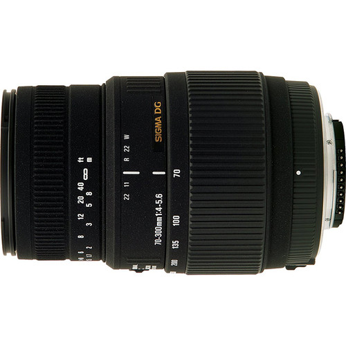 Sigma 70-300mm f/4-5.6 SLD DG Macro Telephoto Lens for Nikon Digital SLRs