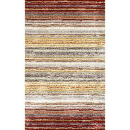 nuLOOM Don Red Multi 9 ft. x 12 ft. Area Rug