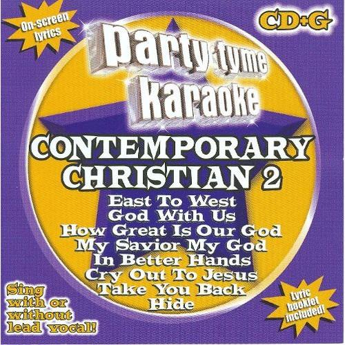 Party Tyme Karaoke: Contemporary Christian, Vol. 2 [8+8 Song CD] [CD]