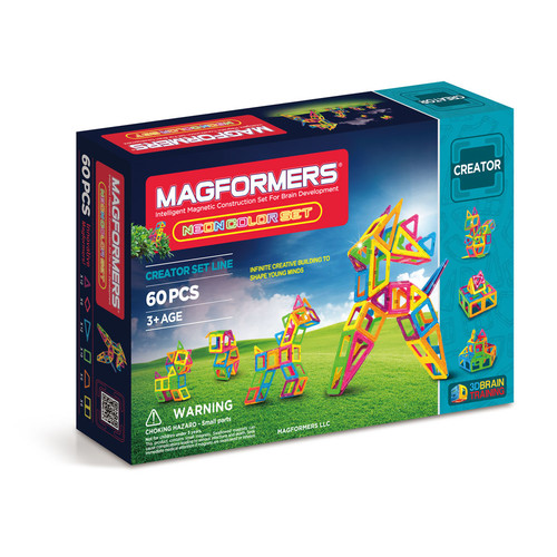 Magformers Neon 60pc Set
