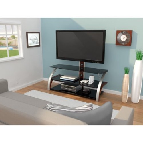 Z-Line Designs - Elektra 3-in-1 TV Mount System for Most Flat-Panel TVs Up to 60