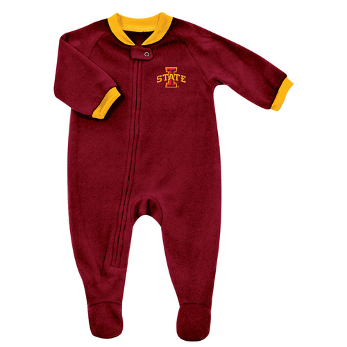 NCAA Infants Blanket Sleeper - Iowa State Cyclones