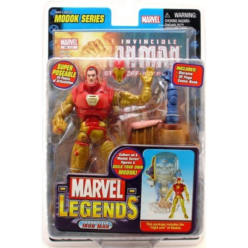 Marvel Legends Modok Series Thorbuster Iron Man Action Figure