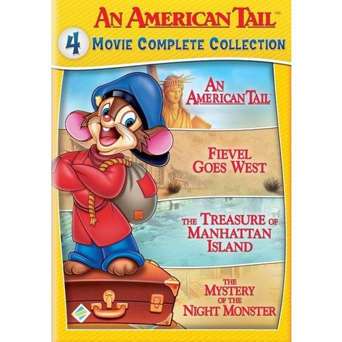 An American Tail: 4 Movie Complete Collection [2 Discs] [DVD]