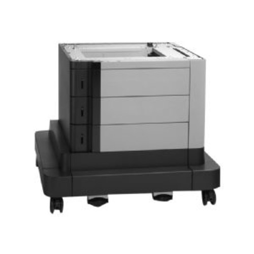 HP Paper Feeder and Stand - Printer base with media feeder - 2500 sheets in 3 tray(s) - for Color LaserJet Managed MFP M680; Color LaserJet Managed Flow MFP M680 (CZ263A)