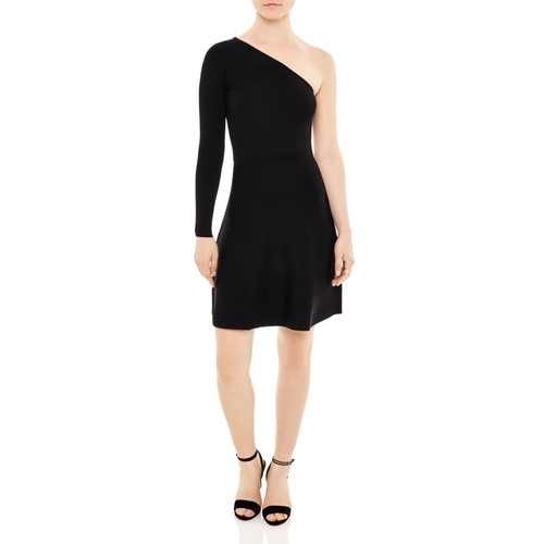 SANDRO Shirley One-Shoulder Dress