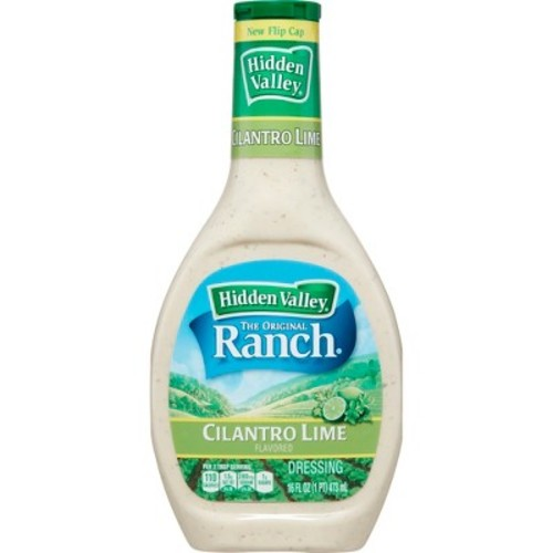 Hidden Valley Original Ranch Dressing Cilantro Lime 16 oz