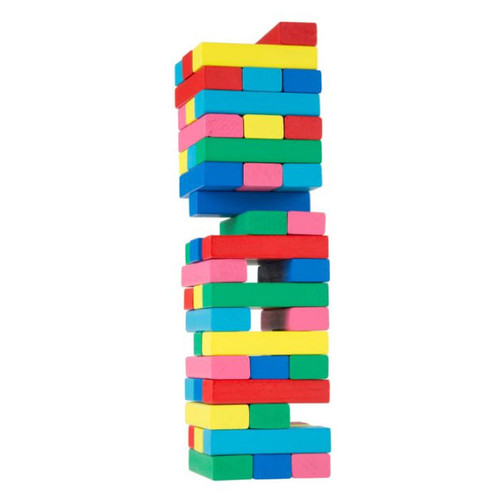 Classic Wooden Blocks Stacking Game by Hey! Play!