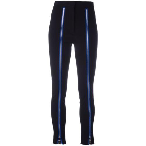 EMILIO PUCCI Zip Seam Skinny Trousers