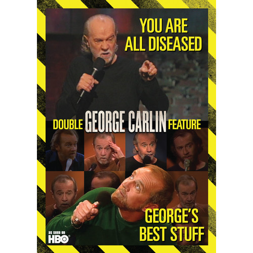 George Carlin: George's Best Stuff/You Are All Diseased [DVD]