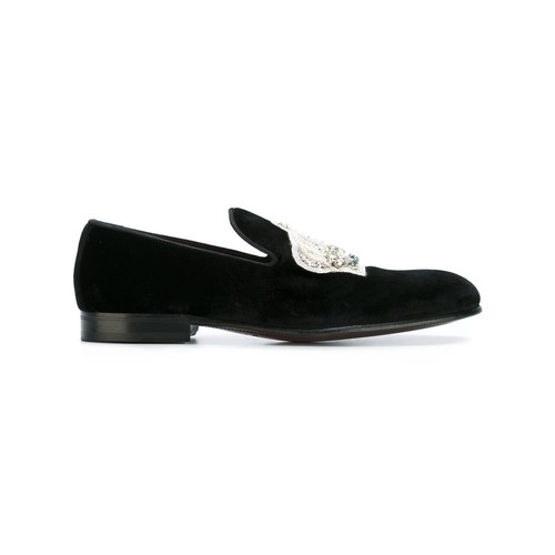DOLCE & GABBANA Crown Slippers